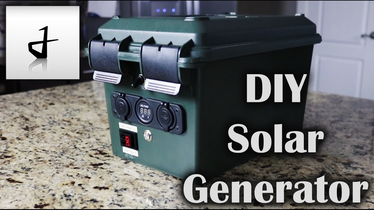 Portable Solar Generator Wiring Diagram Somurichcom