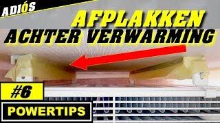 AFPLAKKEN ACHTER RADIATOR / VERWARMING ~ POWERTIPS(#6)