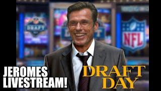 Jeromes NFL Draft Livestream!