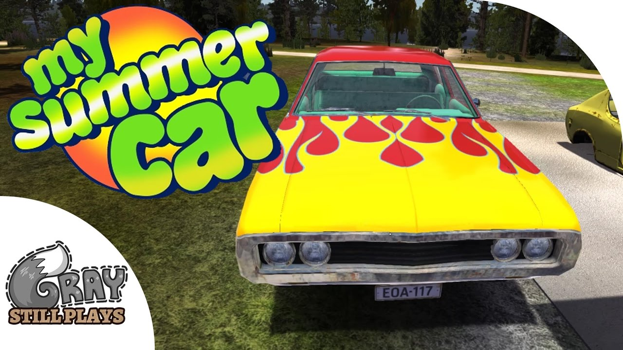 My Summer Car - Stealing the Hot Rod Muscle Car! How to Use the ...