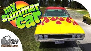 My Summer Car - Stealing the Hot Rod Muscle Car! How to Use the Sauna - Gameplay Highlights Ep 4