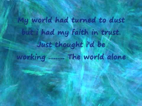 Delta Goodrem - out of the blue -  lyrics