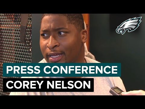 Corey Nelson Talks About Paul Worrilow's Torn ACL After Collision | Eagles Press Conference