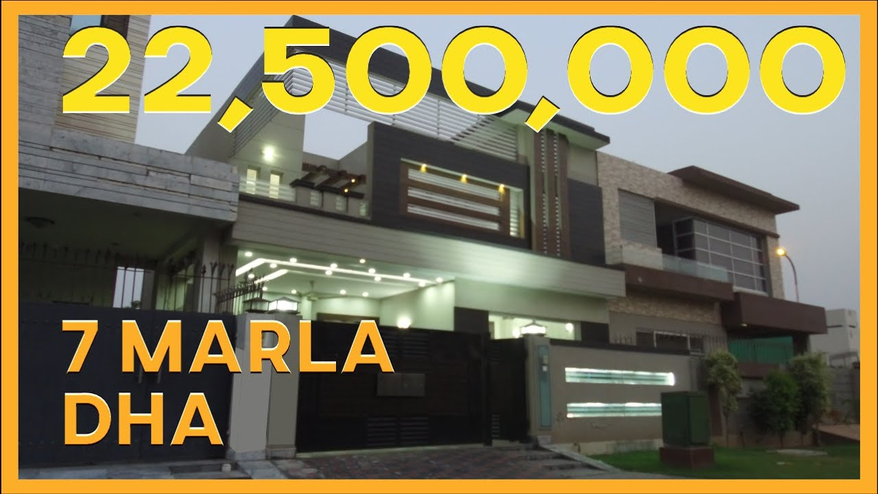 DHA LAHORE: 7 MARLA HOUSE FOR SALE IN PHASE 6.