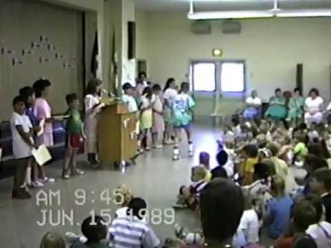 Elizabeth Holladay Elementary School Awards 1989