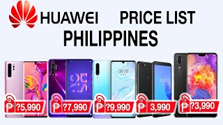 Huawei Phones Price List in Philippines