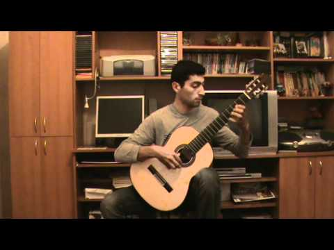 Classical Guitar - Saltarello- Vincenzo Galilei