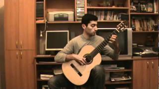 Classical Guitar - Saltarello- Vincenzo Galilei