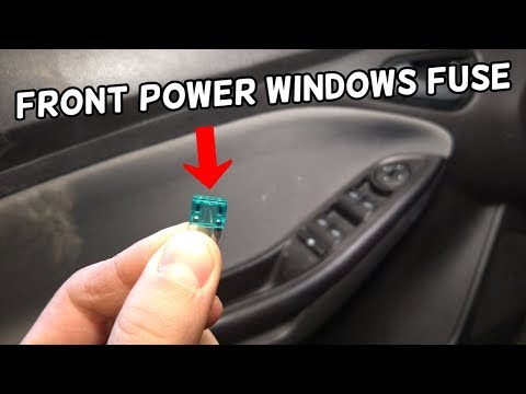 FRONT POWER WINDOWS FUSE LOCATION AND REPLACEMENT FORD FOCUS MK3 2012-2018  - YouTubeYouTube