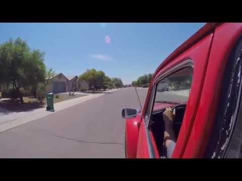 VW Bug GoPro Hero4 drive Vintage Speed exhaust