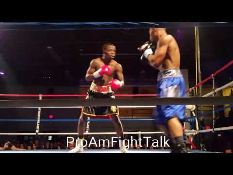 James Early Suffers First Defeat by Falling to Reggie Barnett Jr.!