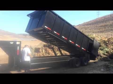2014 Texas Pride heavy duty dump trailer, Tandem axle 160...