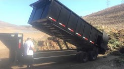 2014 Texas Pride heavy duty dump trailer, Tandem axle 160...