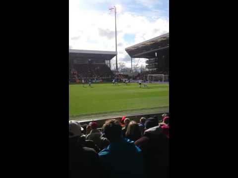 Fulham 2-1 Cardiff. Last minute goal!!!