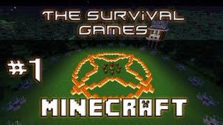 "Igrzyska Śmierci - Minecraft - #1 ""The Survival Games"" ""Hunger Games"" - Dajcie mi miecz !"