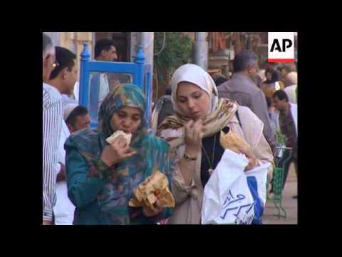 EGYPT: CAIRO: AUTHORITIES LEVEL ILLEGAL BUILDINGS AROUND PYRAMIDS