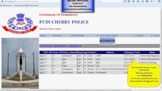 Crime Management System - ASP.NET with C# Project
