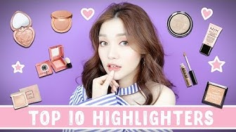 Top 10 Highlighters - Drugstore & High-end | Tina'sBeautyTips