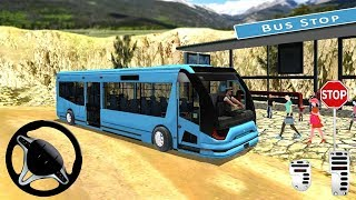 Offroad Bus Driving Simulator 2019: 3D Coach Bus Driver - Android Gameplay