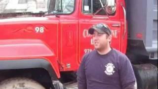1998 Mack R model Tri Axle Dump Truck