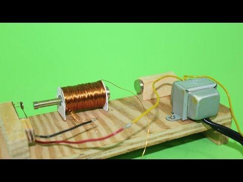 Electromagnetically Driven Transformer