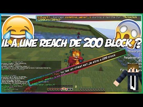 [FUNPVP] IL A UNE REACH A 200 BLOCK WTF ?