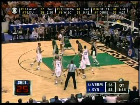 Vermont Beats Syracuse in 2005 NCAA Tournament.mpg