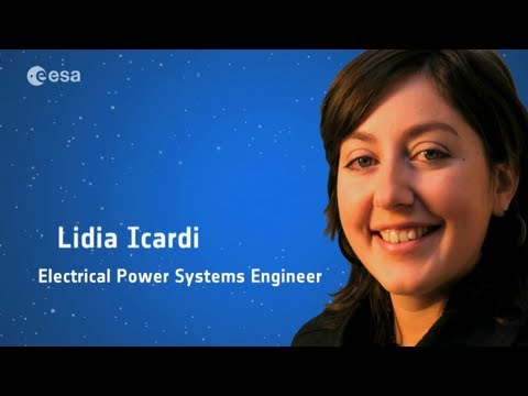 Lidia Icardi: Electrical power systems engineer