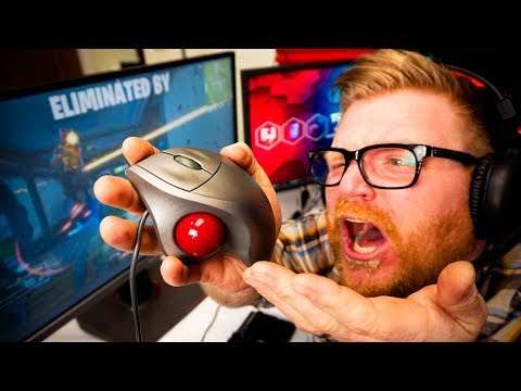 Can You Game With A Track Ball Mouse?!??