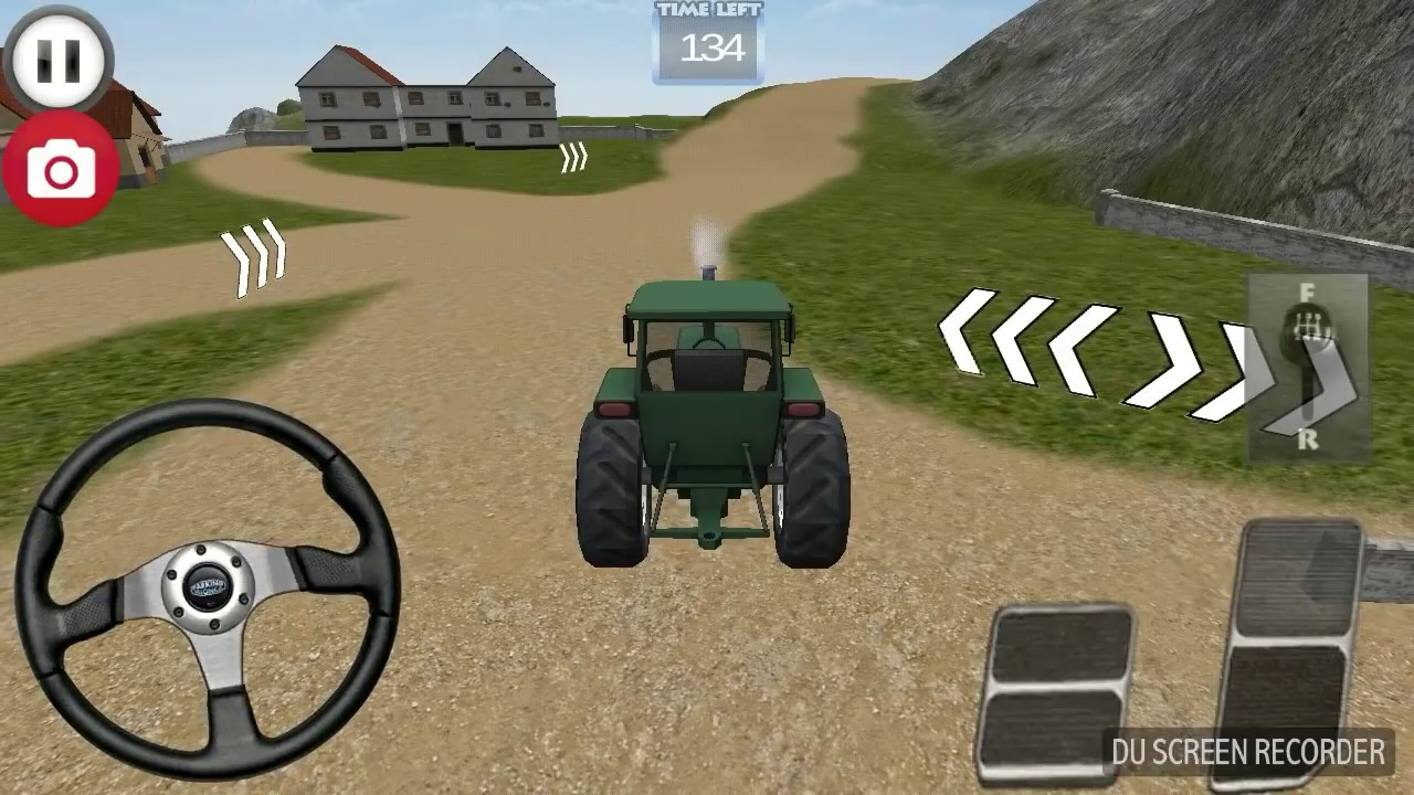 Tractor Driving Gameplay Youtube