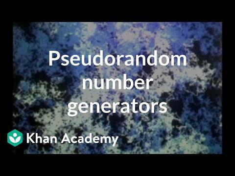Pseudorandom number generators | Computer Science | Khan Academy