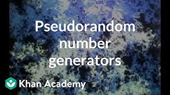 Pseudorandom number generators | Computer Science | Khan Academy
