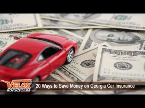20 Ways to Save Money on Georgia Car Insurance