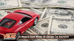 20 Ways to Save Money on Georgia Car Insurance