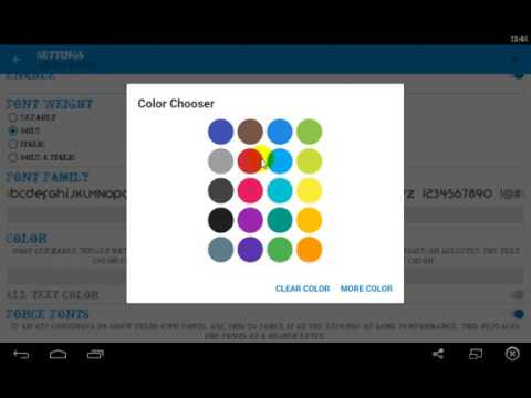 How To Change Font Color & Font Style Of Any Apps