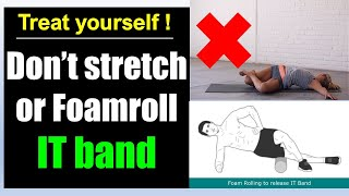 IT band syndrome and knee pain(how to fix it): Best Exercises treatment Science-based