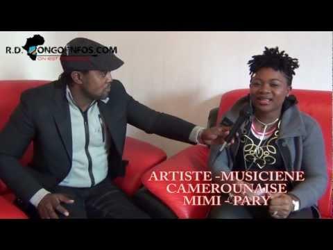 RDCONGOINFOS : Une chanteuse camerounaise demande pardon aux combattants