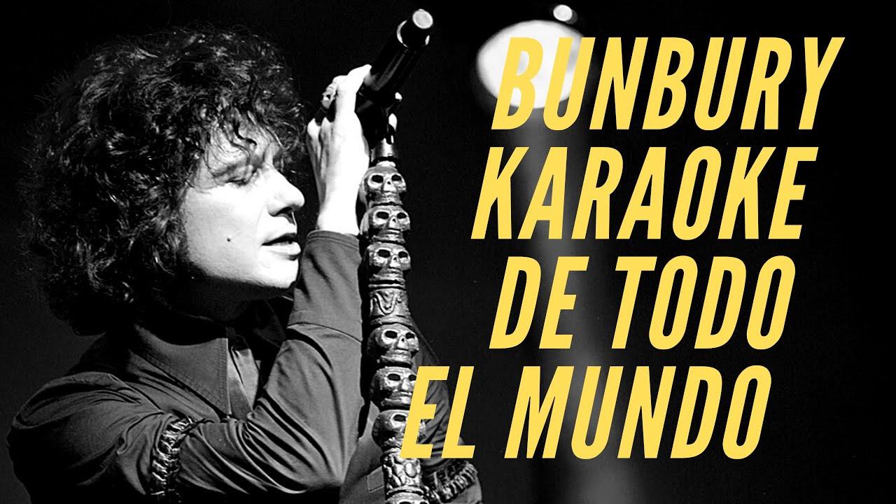 Enrique Bunbury   De todo el mundo   Karaoke
