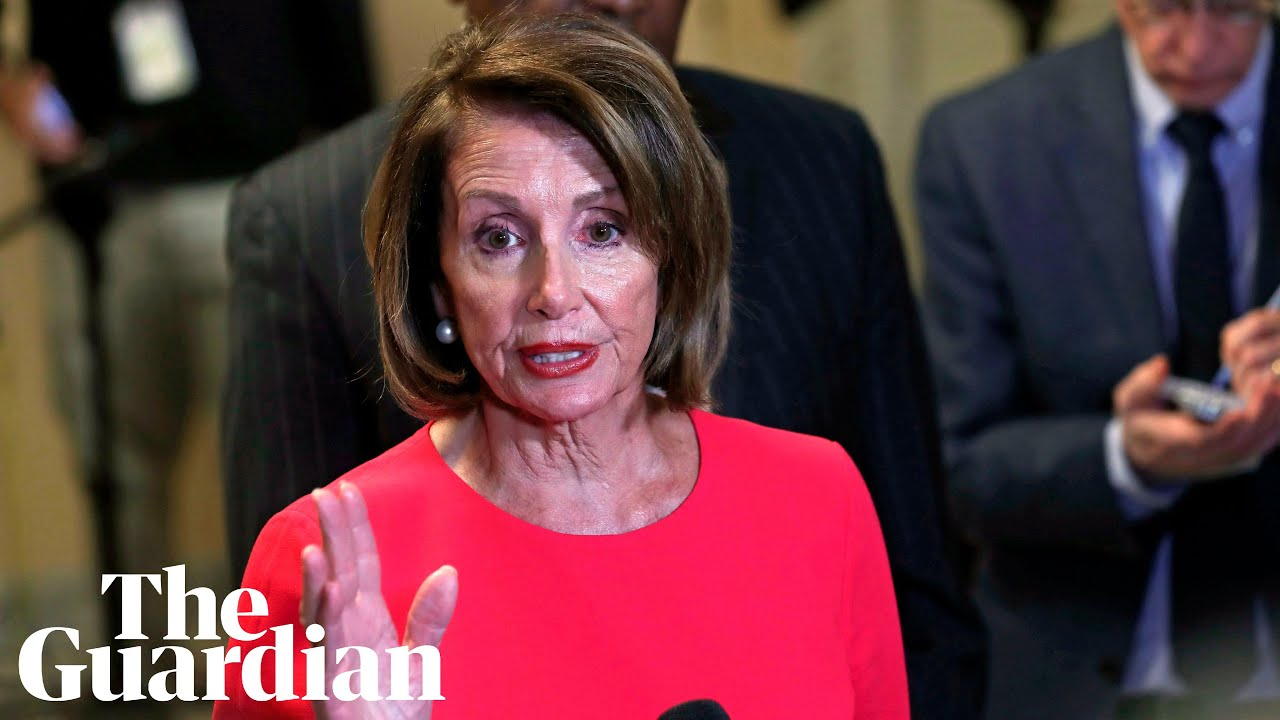 'Immoral': Nancy Pelosi on Trump's border wall