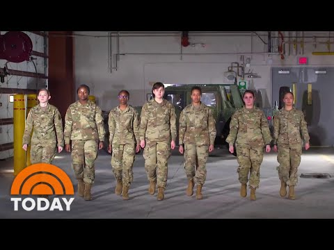 Meet Women Of US Infantry Just Days From Their Historic Deployment To Front Lines | TODAY
