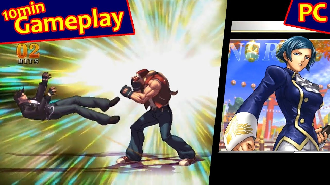 The King Of Fighters Xiii Galaxy Edition Pc 2013 Youtube