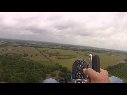 Gyro flying with Greg S. at Bensen Days 2014