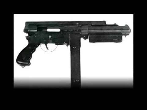 Rare British Submachine Guns of World War II
