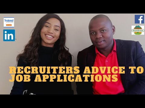 Platforms You can apply for Jobs / CV Format PART 1