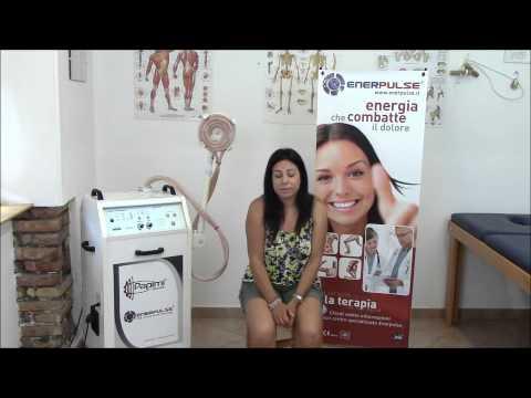 Papimi per terapia Enerpulse, coccigodinia acuta