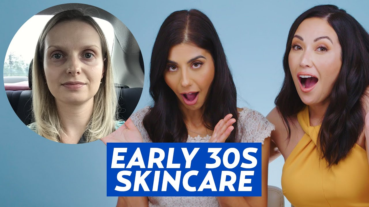 Early 30s Anti-Aging Skincare Routine for Alisa! | DERM REACTS