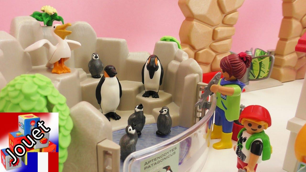 parc animalier playmobil nous construisons le zoo. Black Bedroom Furniture Sets. Home Design Ideas