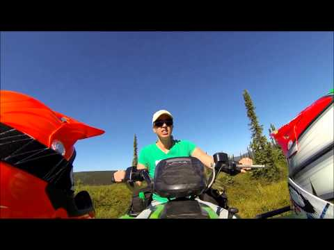 Riding Quads In White Mountain Rec Area, Fairbanks, AK