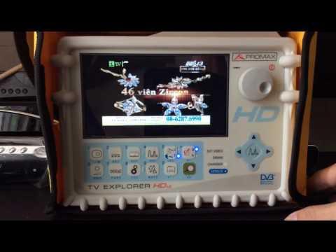Promax TV HD LE test signal DVB S2/T/C...