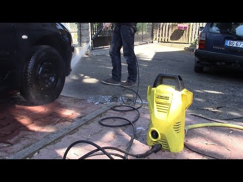Karcher k2 : Failure and repair (not a Michael Bay movie)